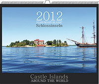 "Vladi Private Islands Calendar 2012 - ""Castle Islands"" - Limited Edition"