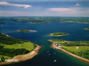 The beautiful Mahone Bay - Photo Courtesy of Rob Garnett at Airscapes