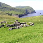 St Kilda Hirta ruins