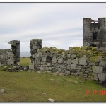 Castle ruins on Mutton Island
