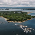 (Image of Sandy Island from the Georgian Bay Land Trust)