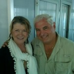 (Martha Stuart with President Martinelli/from Twitter)