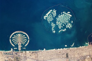 The World Dubai - Aerial View from Wikipedia