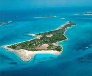 (Nicholas Cage's former island, Leaf Cay)