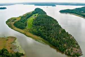 Exclusive Island near Stockholm