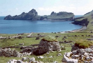 (Ruins of a village on St. Kilda)