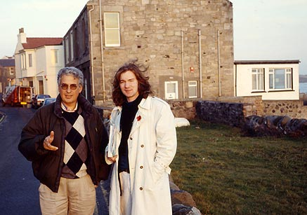 Farhad Vladi and Allan Jardine
