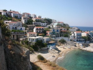 (Armenistis, in northern Ikaria)