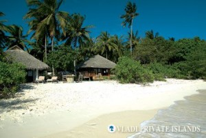 (Beach-side paradise on Soneva Fushi)