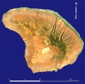 (Landsat Image of Lanai Island)