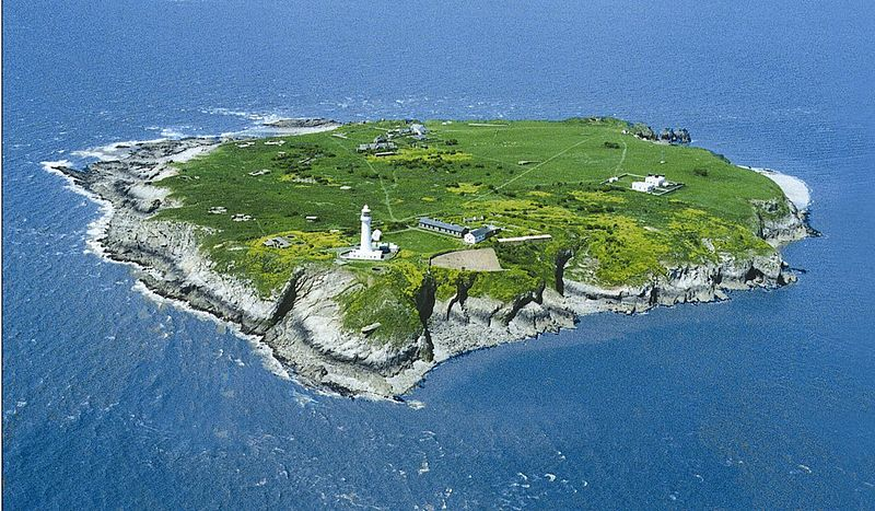 (Image of Flat Holm by the Cardiff Council)