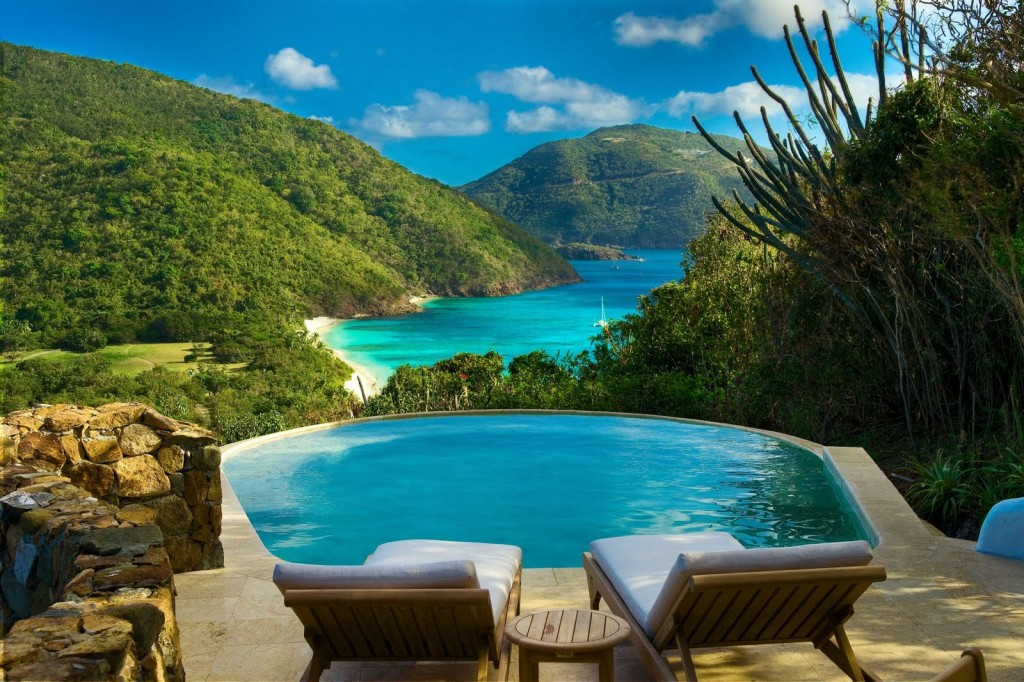(Caribbean fantasies made real on Guana Island)