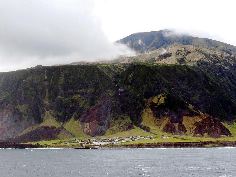 (Tristan da Cunha image by Michael Clarke)