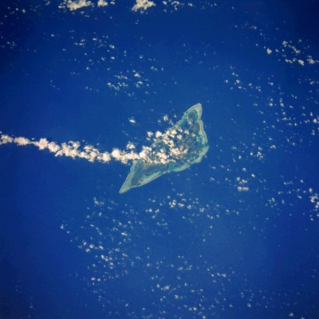 (NASA Satellite Image of Yap)