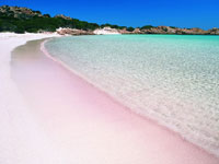 "The Famous ""Spiaggia Rosa"" / Isola Budelli - Courtesy of Vladi Private Islands"