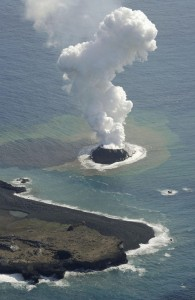 Volcanic Eruption in Japan - Courtesy of Yahoo News