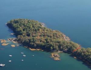 Clapboard Island - Courtesy of Maine Coast Heritage Trust