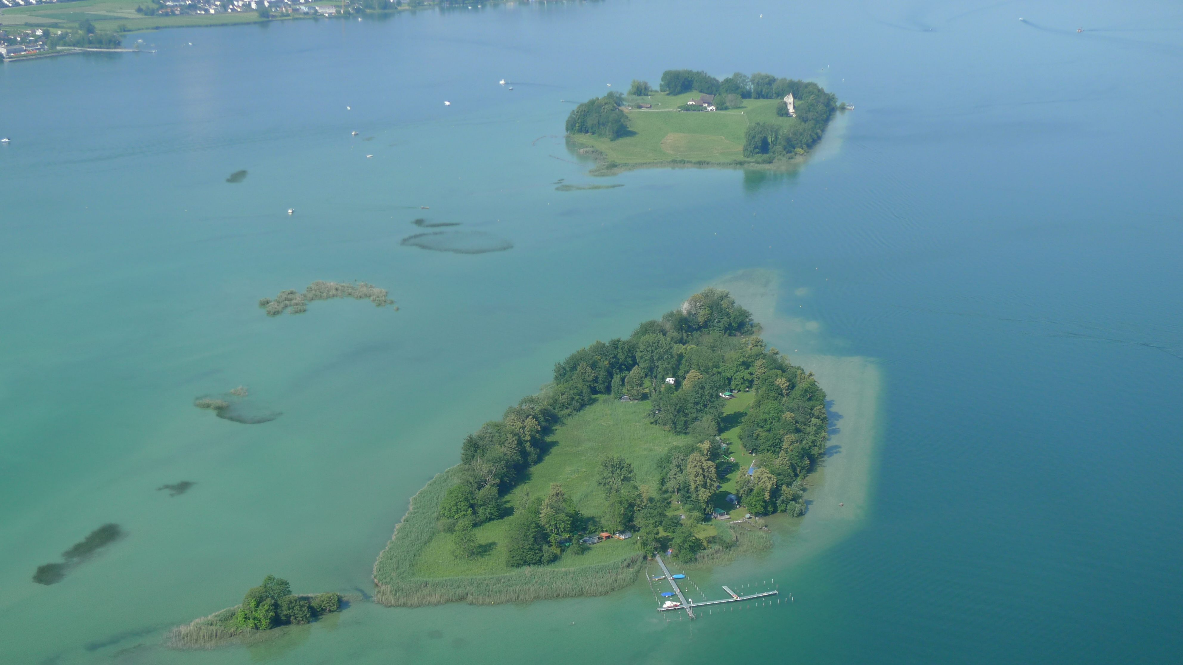 Switzerland: Controversial Plans for ManMade Islands In Lake Zurich