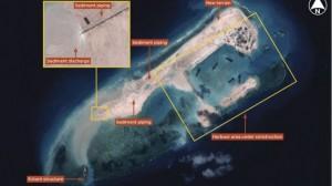 Fiery Cross Reef, Spratly Islands - Photo Courtesy of www.janes.com