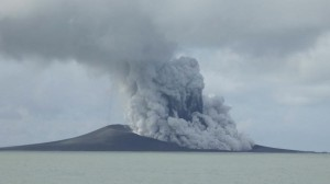 Volcanic Eruption in Tonga - Photo Courtesy of AP Photo / Military of Foreign Affairs Tonga