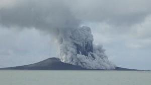 Volcanic Eruption in Tonga - Photo Courtesy of AP Photo / Military of Foreign Affairs Tonga