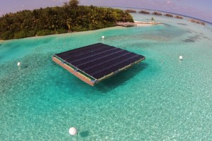 Gili Lankanfushi's Solar Panel - Photo Courtesy of HotelierMaldives.com