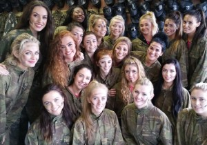 The Miss Ireland Contestants - Courtesy of Goss.ie
