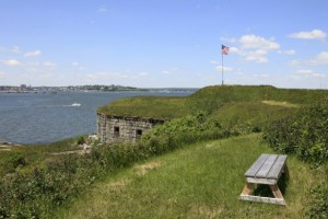 House Island's Historic Fort - Photo by Realtor.com