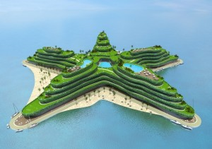 Maldives turn to floating islands to counterbalance rising tides