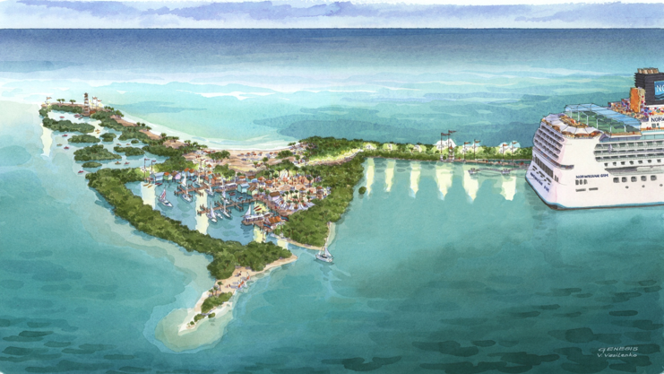 Belize Ncl Is The Latest Cruise Company To A Private Island
